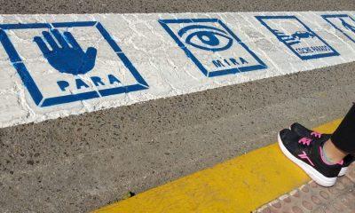 AionSur paso-peatones-400x240 Mairena pinta pasos de cebra con pictogramas para que los entiendan los niños con autismo Aljarafe Sociedad  destacado