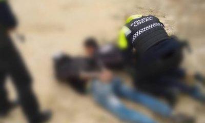 AionSur poli-osuna-400x240 Sorprendidos por la Policía por los tejados de las casas que querían robar Osuna Sucesos  destacado