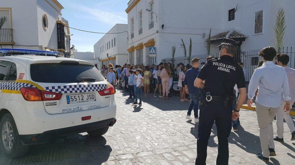 AionSur policia-Arahal-Semana-Santa-1024x576 Días y horarios de los cortes de tráfico durante la Semana Santa de Arahal Semana Santa