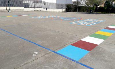 AionSur recreo-patio-san-juan-aznalfarache-400x240 Llenan los patios de los institutos de juegos educativos para luchar contra el móvil Educación Sociedad