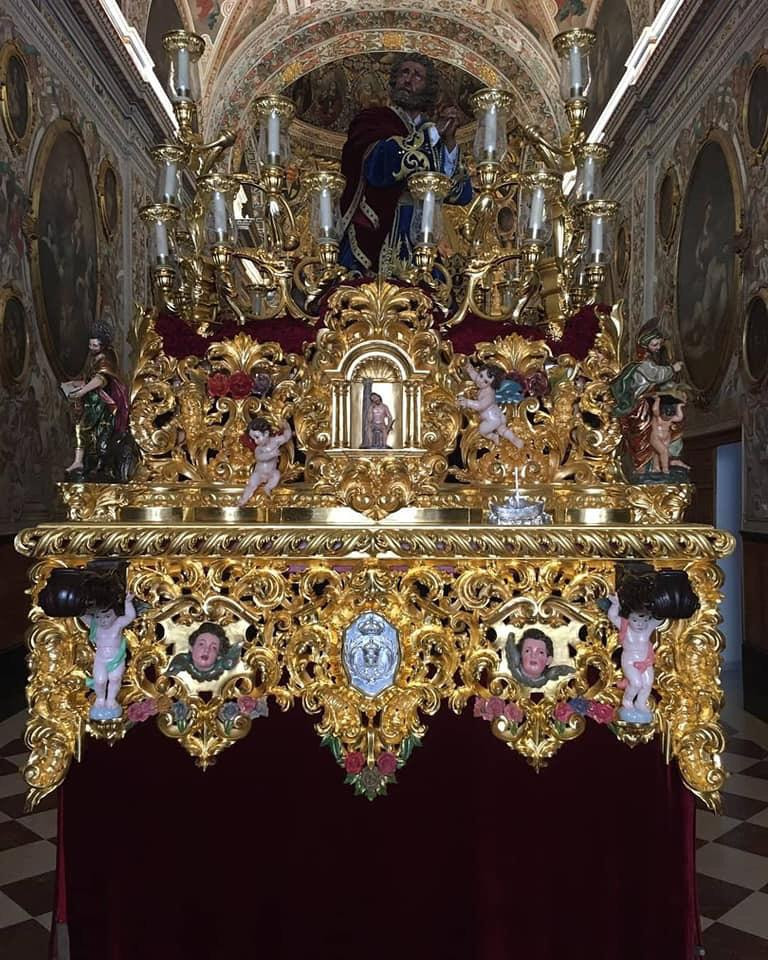 AionSur san-pedro-Estepa Procesiones del Martes y Miércoles Santo en Estepa Estepa Semana Santa