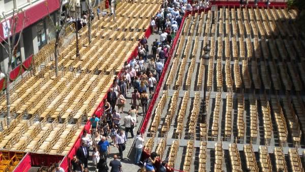AionSur sillas Participa sortea entre personas con discapacidad sus sillas de la Semana Santa de Sevilla Semana Santa Sevilla