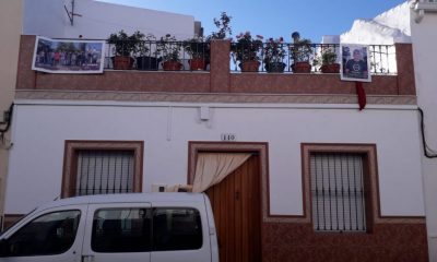 AionSur ElCoronil-Podemos-elecciones-400x240 Partidarios de Podemos de El Coronil cuelgan carteles del candidato en las fachadas de sus casas El Coronil
