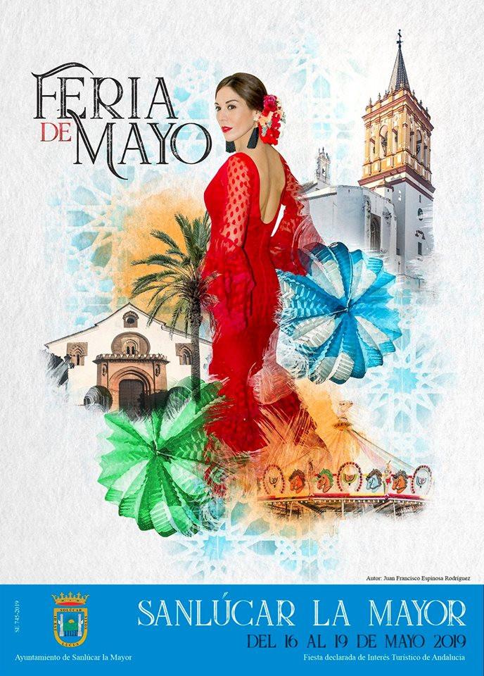 AionSur Feria-Sanlucar-cartel Sanlúcar la Mayor tendrá una feria con horas de silencio y música unificada Provincia Sociedad