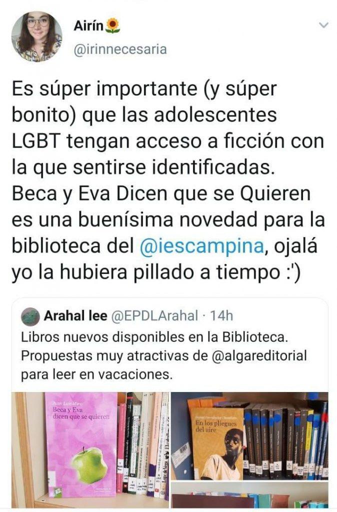 """AionSur IESLACAMPIÑA-674x1024 VOX critica a dos institutos de Arahal y Marchena por """"adoctrinamiento LGTB"""" Arahal Educación Marchena  destacado"""