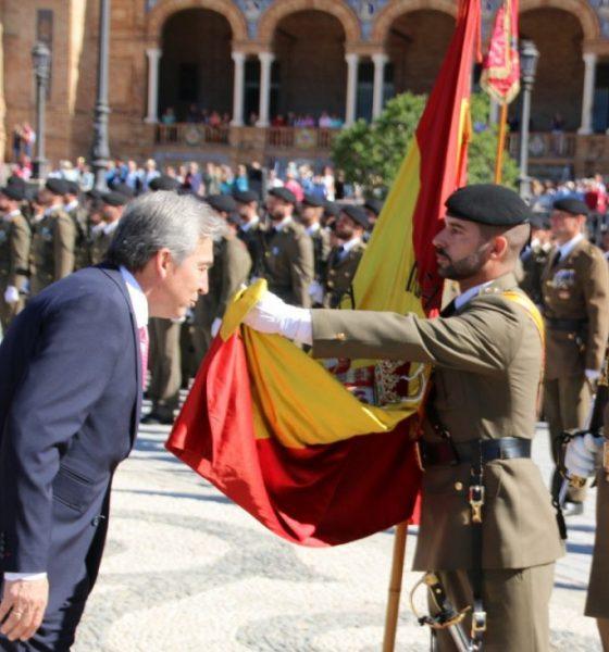 AionSur Jura-bandera-560x600 Unas 2.000 personas juran bandera en una ceremonia civil en Sevilla Provincia Sociedad  destacado