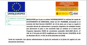 AionSur Marchena-ciclo-300x155 La UE concede más de millón y medio de euros para dos grandes proyectos de Marchena Marchena Sociedad