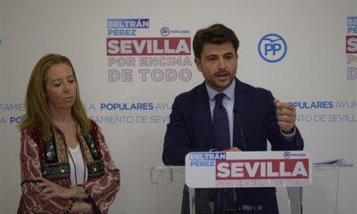 AionSur PP-Beltran-400x240 La idea del PP de Sevilla de iniciar la campaña en la Feria provoca las críticas de los rivales Política Sevilla
