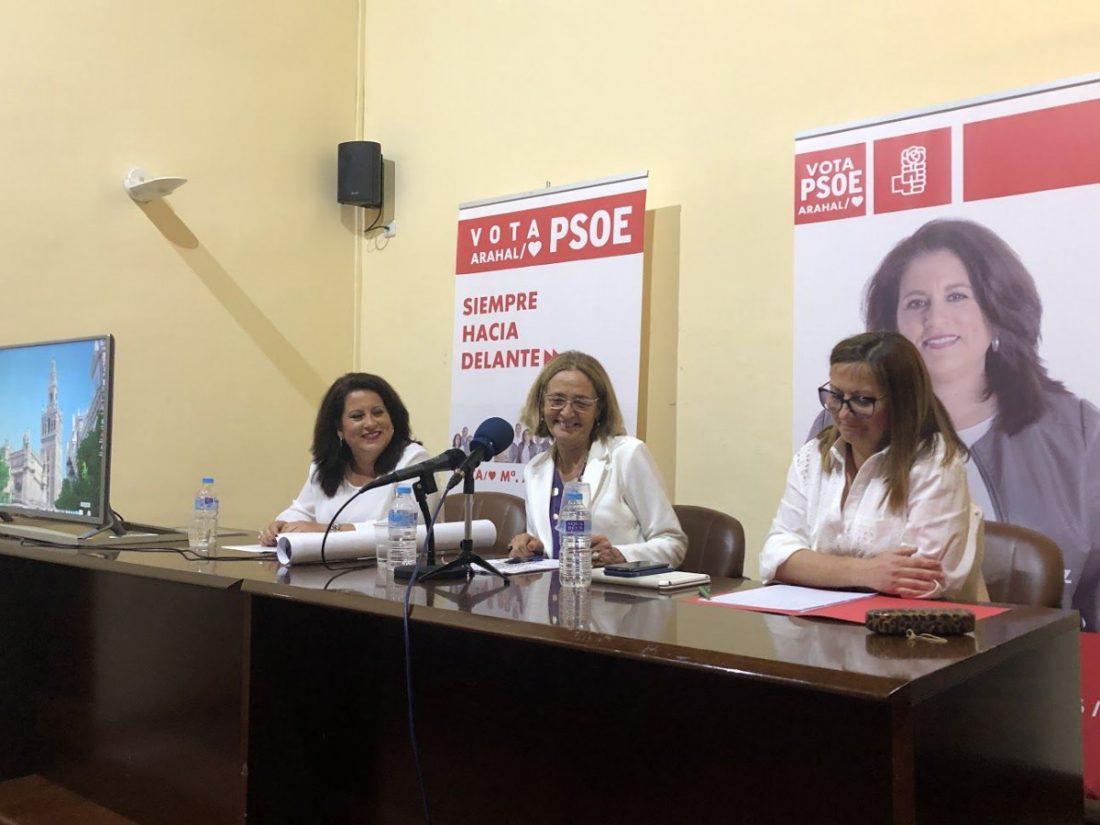 AionSur PSOE-Arahal-elecciones-municipales Peatonalizar el centro de Arahal, una de las propuestas del programa electoral del PSOE Arahal Política