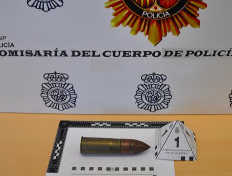 AionSur Proyectil- Desactivan un proyectil de guerra encontrado en una casa de Dos Hermanas Dos Hermanas Sucesos