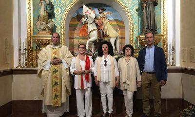 AionSur Santiago-3-400x240 Los Corrales recupera la imagen de Santiago Apóstol para su iglesia Provincia Sociedad