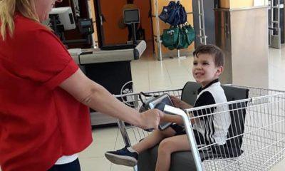 AionSur Utrera-madre-400x240 Una madre de El Coronil consigue que Mercadona tenga un carro para niños con movilidad reducida Sociedad Utrera  destacado