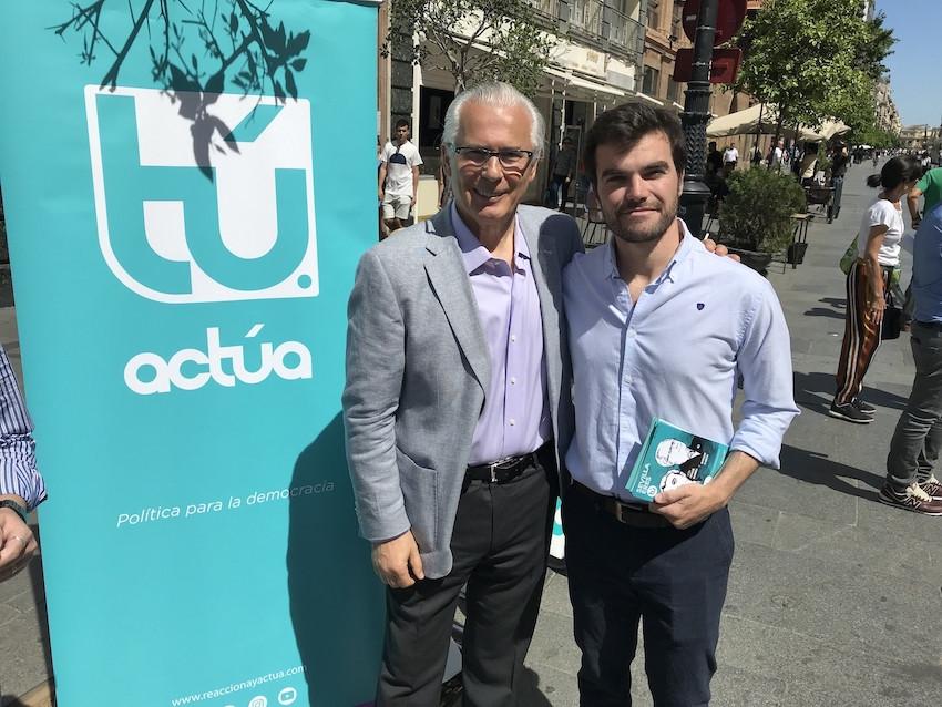 AionSur actua-garzon Actúa, el partido del juez Garzón, será la llave de gobierno en Castilleja de Guzmán Política Provincia