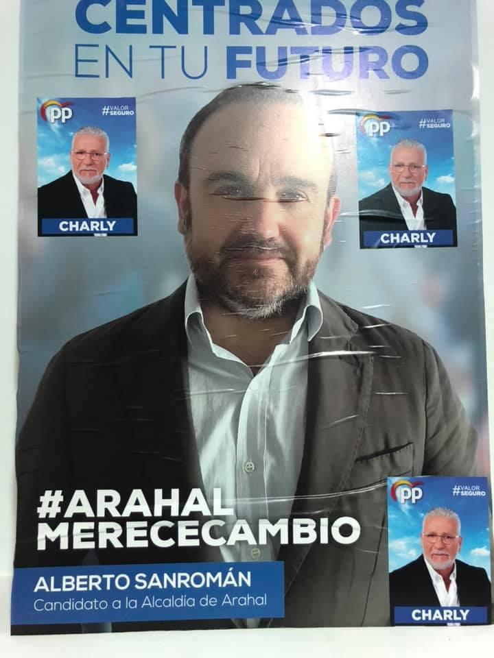 AionSur denuncia-expolicia-Arahal La Junta Electoral insta al PP que borre al exjefe de la Policía de su mitin en Arahal Arahal  destacado