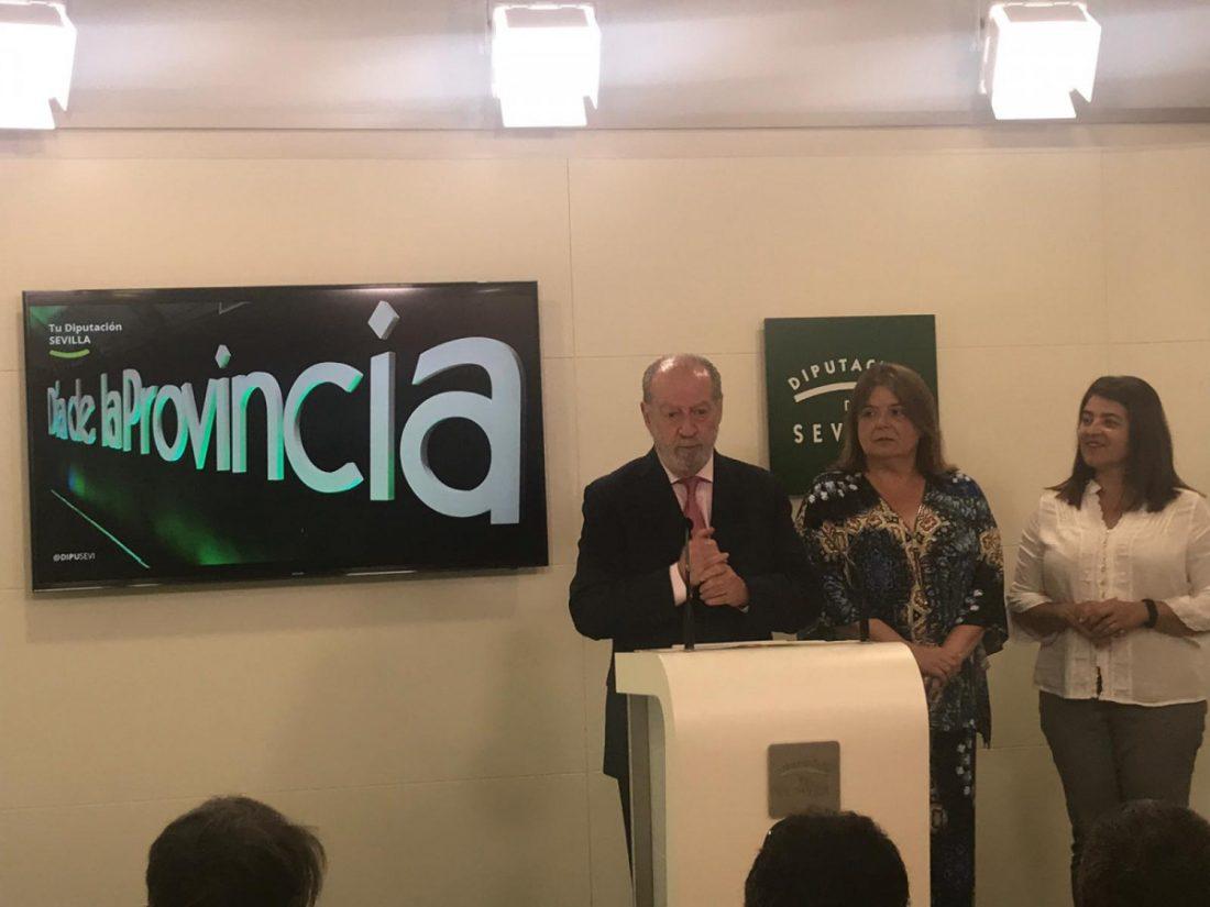 AionSur diputacion-medallas Joaquín Sánchez y Caparrós, Medallas de Oro de la Provincia de Sevilla 2019 Provincia Sociedad