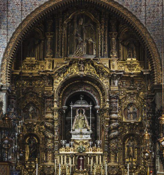 AionSur utrera-560x600 Aprobados los trabajos para la restauración del retablo del santuario de Consolación de Utrera Cultura Utrera