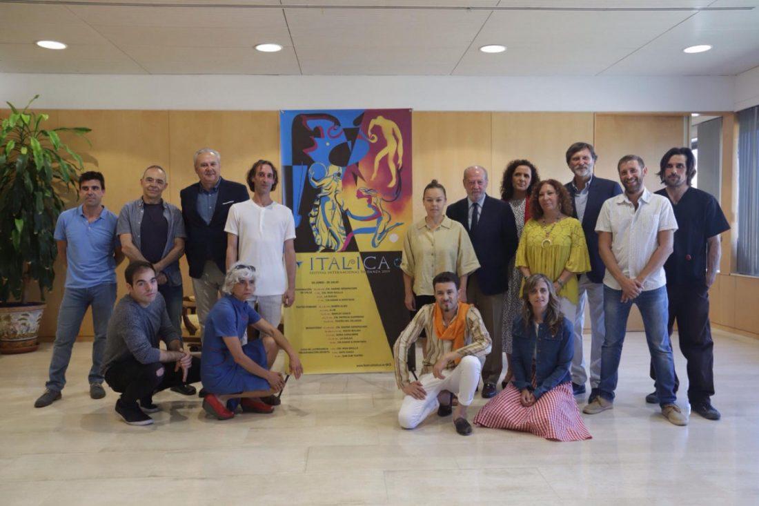 AionSur Festival-Danza-Italica El Festival de Danza de Itálica tendrá 28 espectáculos del máximo nivel Cultura Provincia