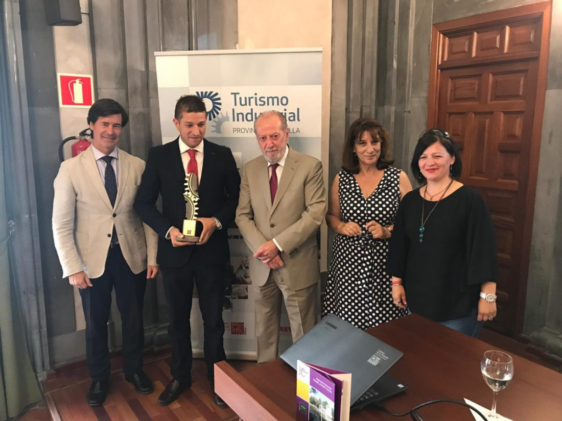 AionSur Industria-premio-procavi Procavi y Lagar de Osset, premios de Turismo Industrial Provincia de Sevilla 2019 Marchena Provincia
