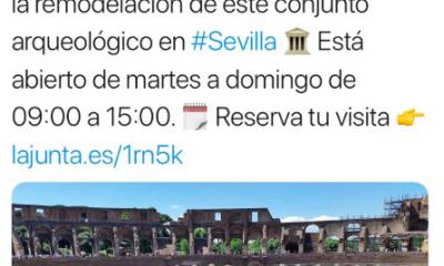 AionSur Italica-foto-400x240 La Junta promociona Itálica con una foto del Coliseo romano Sevilla Sociedad  destacado