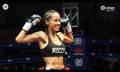 AionSur Lara-Fernandez-400x240 La luchadora coriana Lara Fernández, campeona de España de Muay Thai Artes Marciales Deportes Provincia  destacado