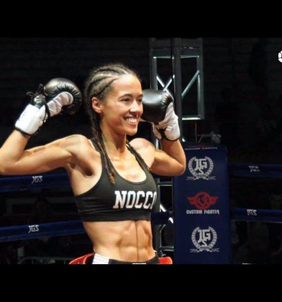 AionSur Lara-Fernandez-560x600 La luchadora coriana Lara Fernández, campeona de España de Muay Thai Artes Marciales Deportes Provincia destacado