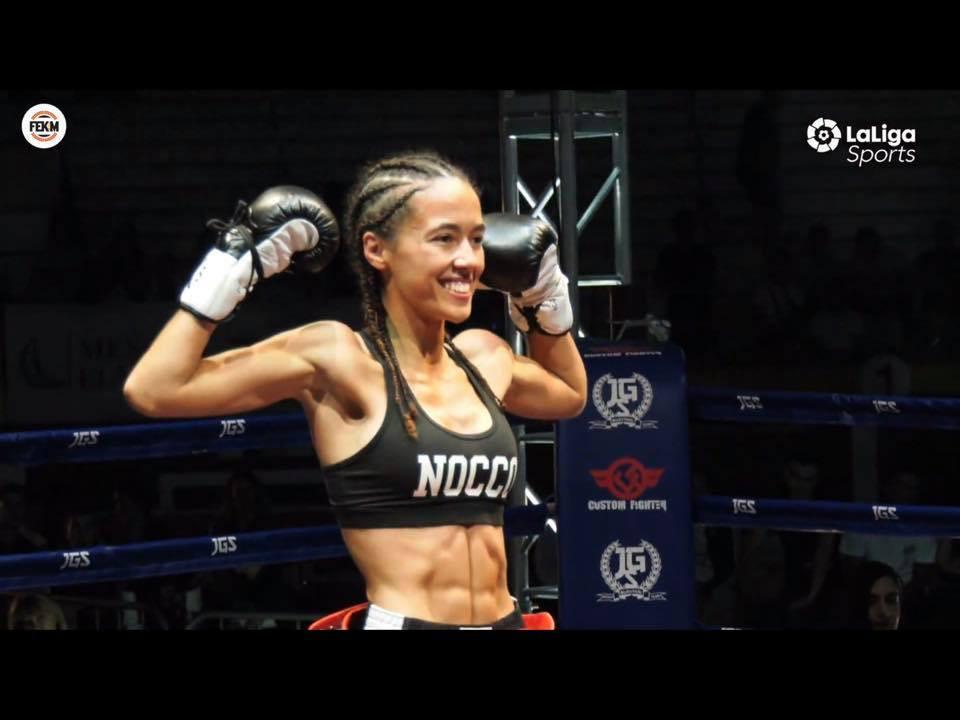 AionSur Lara-Fernandez La luchadora coriana Lara Fernández, campeona de España de Muay Thai Artes Marciales Deportes Provincia destacado