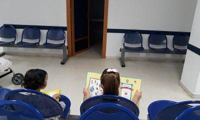 AionSur Moron-punto-de-lectura-400x240 Un punto de lectura ameniza la espera de los pacientes más jóvenes de Morón de la Frontera Cultura Morón de la Frontera Sociedad