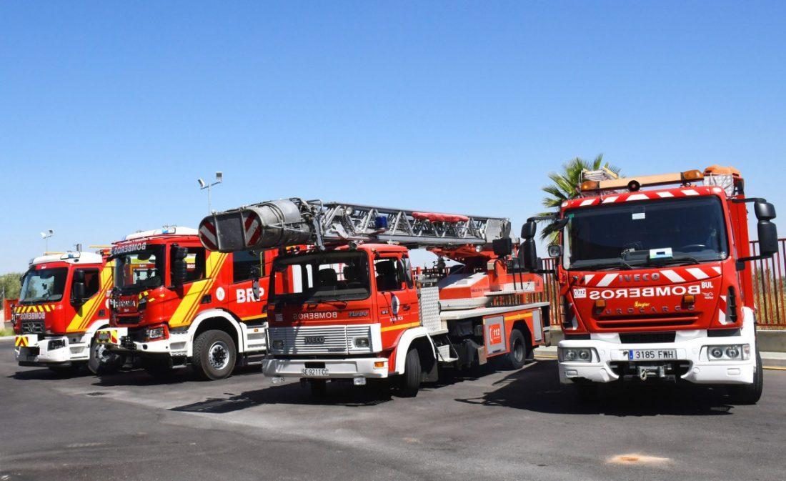 AionSur Osuna-bomberos Nuevos equipos de bomberos y policía para Osuna Osuna