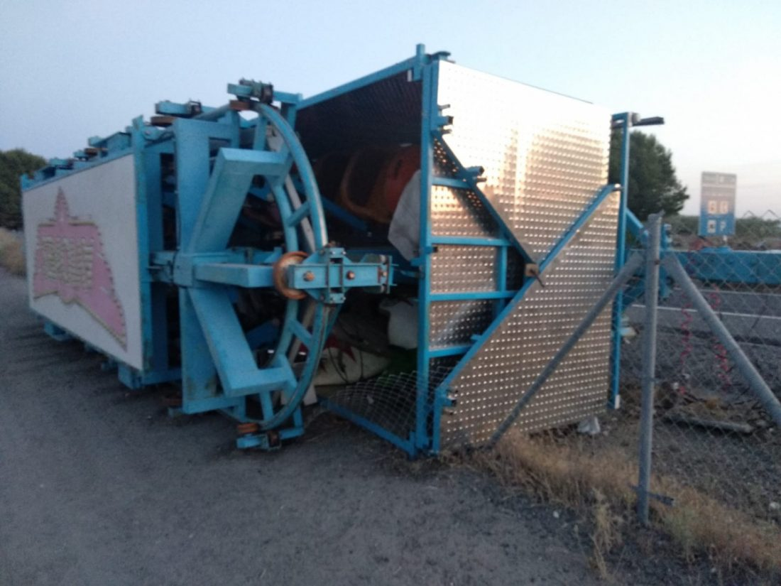 AionSur camión-pierde-remolque Un camión pierde el remolque en la A92 a su paso por Arahal Arahal Sucesos  destacado