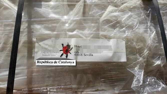 """AionSur empresa-barcelona Envían material de construcción a un hotel sevillano desde la """"República Catalana"""" Sevilla Sociedad"""