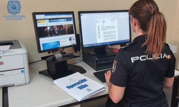 AionSur policia-informatica-590x354 Desarticulada en Sevilla una red que estafaba a la Seguridad Social con empresas ficticias Sevilla Sucesos  destacado