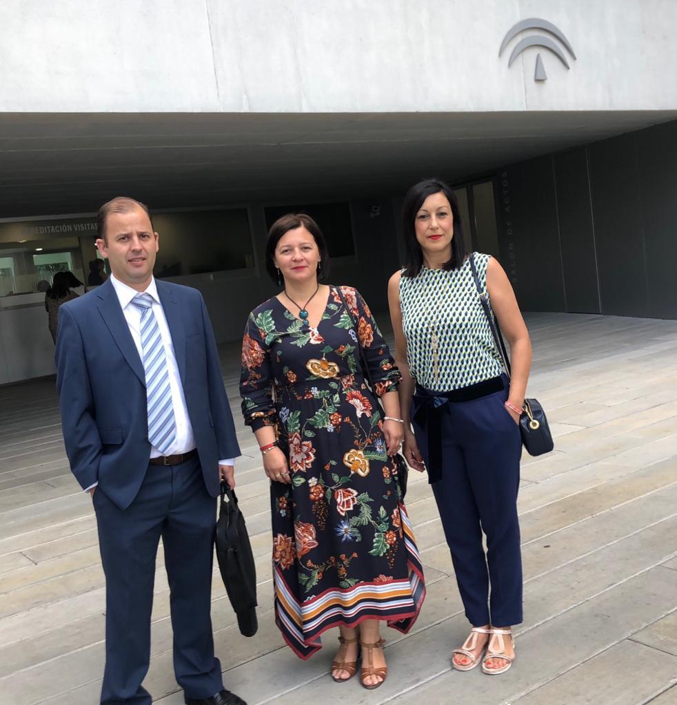 AionSur reunion-adif La eliminación del paso a nivel de Marchena, pendiente de la licitación Marchena Sociedad destacado