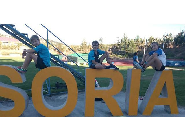AionSur soria-3 El Ohmio júnior, presente en diferentes puntos de la geografía española Atletismo Deportes  destacado