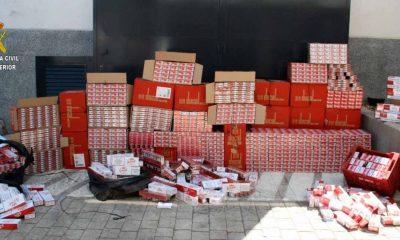 AionSur tabaco-400x240 Detenidas 16 personas en Alcalá tras intervenirles 14.340 cajetillas de tabaco de contrabando Alcalá de Guadaíra Sucesos