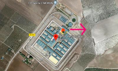 AionSur Carcel-Moron-400x240 El preso fugado de la cárcel de Morón cumplió condena por conducción temeraria y no era problemático Morón de la Frontera Sucesos