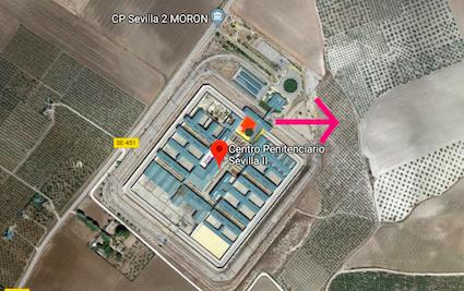 AionSur Carcel-Moron El preso fugado de la cárcel de Morón cumplió condena por conducción temeraria y no era problemático Morón de la Frontera Sucesos