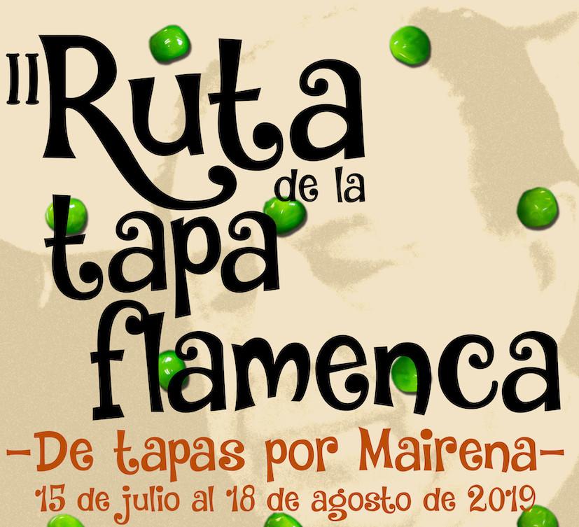 AionSur CartelRutaTapaFlamenca2019 En marcha una nueva edición de la Ruta de la Tapa Flamenca de Mairena del Alcor Mairena del Alcor Sociedad