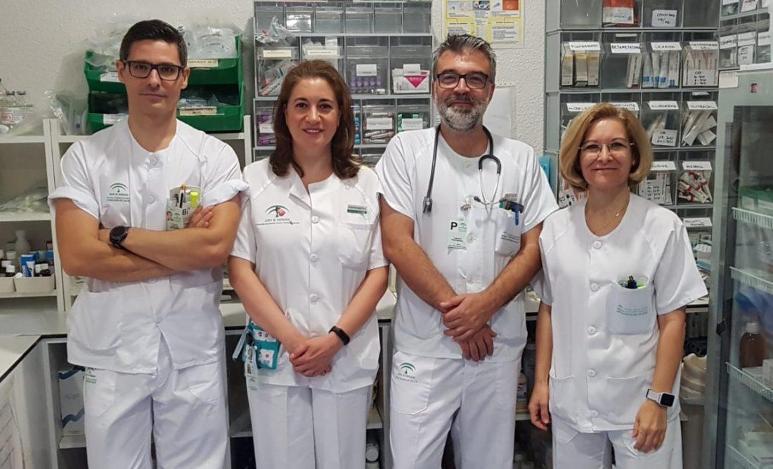 AionSur El-Tomillar-Cuidados-paliativos-premio Profesionales de Cuidados Paliativos de El Tomillar, premiados en el congreso de la Sociedad Andaluza de Medicina Interna Hospitales Salud