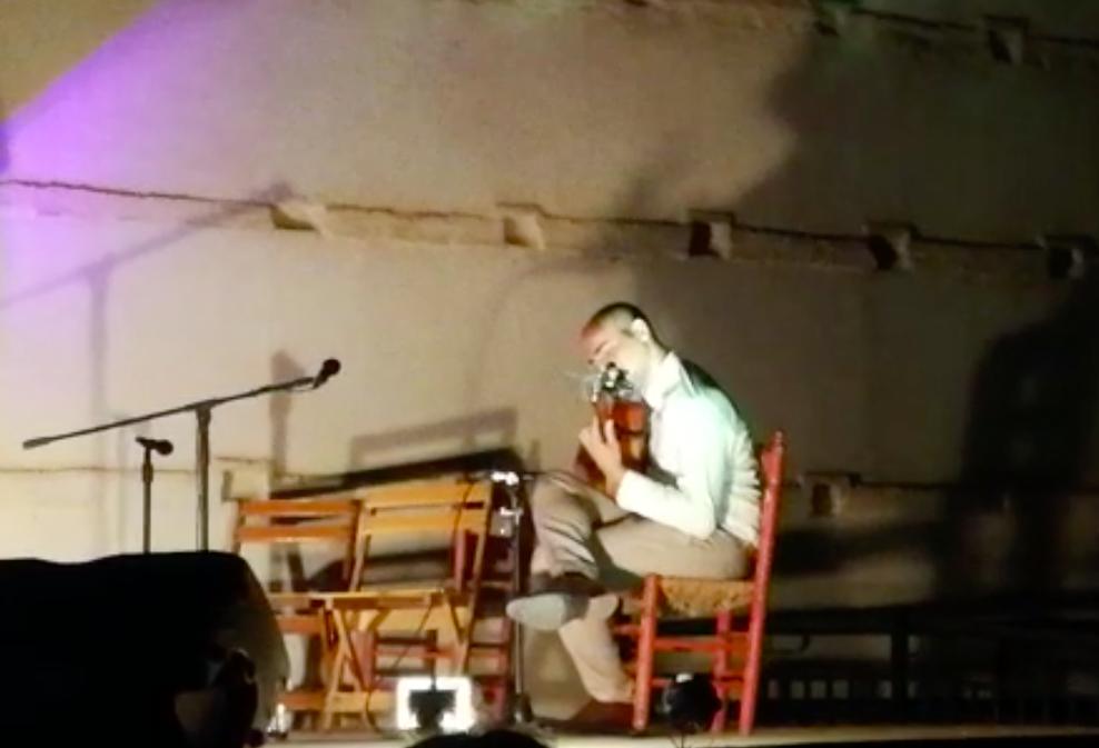 AionSur Guitarra-concurso El granadino Israel Gómez gana el Concurso Nacional de Guitarra de Marchena Cultura Marchena