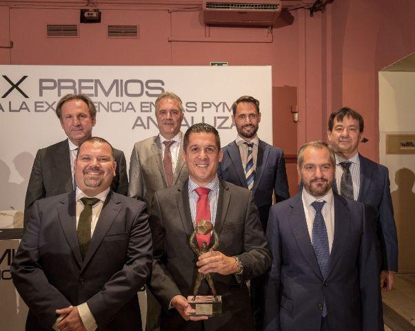 AionSur JIMECA-1 Una empresa de Arahal, Jimeca S.L, recibe un premio a la Excelencia de las Pymes andaluzas Arahal Empresas  destacado
