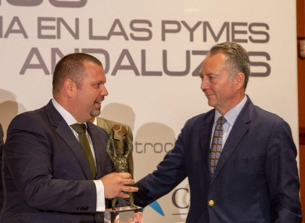AionSur JIMECA-2-1024x751 Una empresa de Arahal, Jimeca S.L, recibe un premio a la Excelencia de las Pymes andaluzas Arahal Empresas  destacado