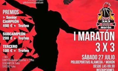 """AionSur Morón-basquet-400x240 I Maratón 3x3 en Morón el 27 de julio,""""¿te apuntas?"""" Deportes Morón de la Frontera"""