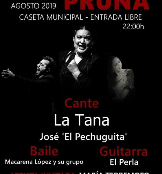 AionSur Pruna-flamenco-560x600 Pruna acude a su cita veraniega con el mejor flamenco Cultura Pruna