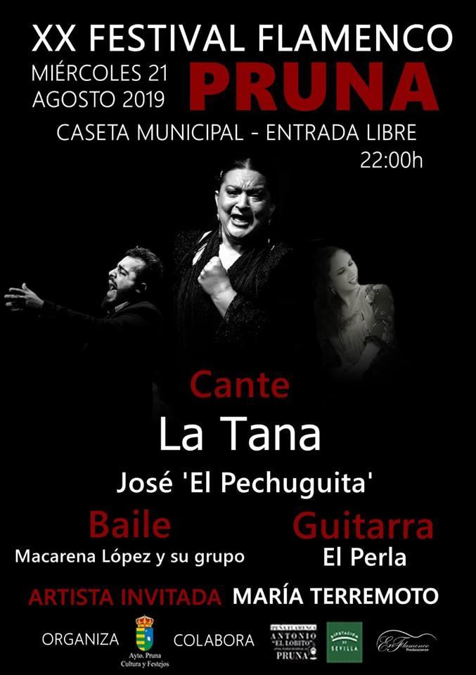 AionSur Pruna-flamenco Pruna acude a su cita veraniega con el mejor flamenco Cultura Pruna
