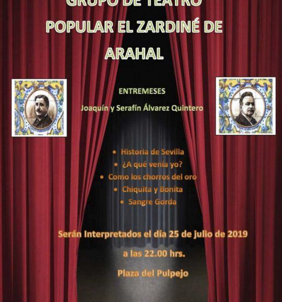AionSur Teatro-Arahal-560x600 Cine, música y teatro por barriadas para las noches de verano en Arahal Agenda Arahal