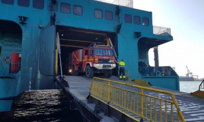 AionSur UMe-camion-400x240 La UME moviliza desde la base de Morón sus medios para luchar contra el incendio de Ceuta Incendios Forestales Sucesos