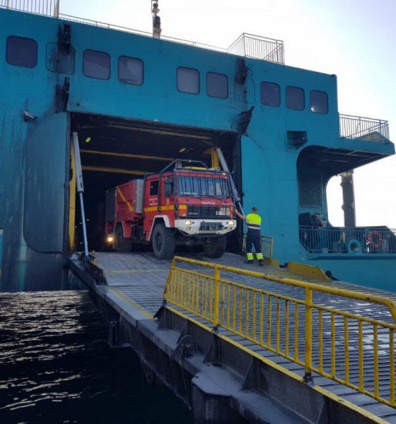 AionSur UMe-camion-560x600 La UME moviliza desde la base de Morón sus medios para luchar contra el incendio de Ceuta Incendios Forestales Sucesos