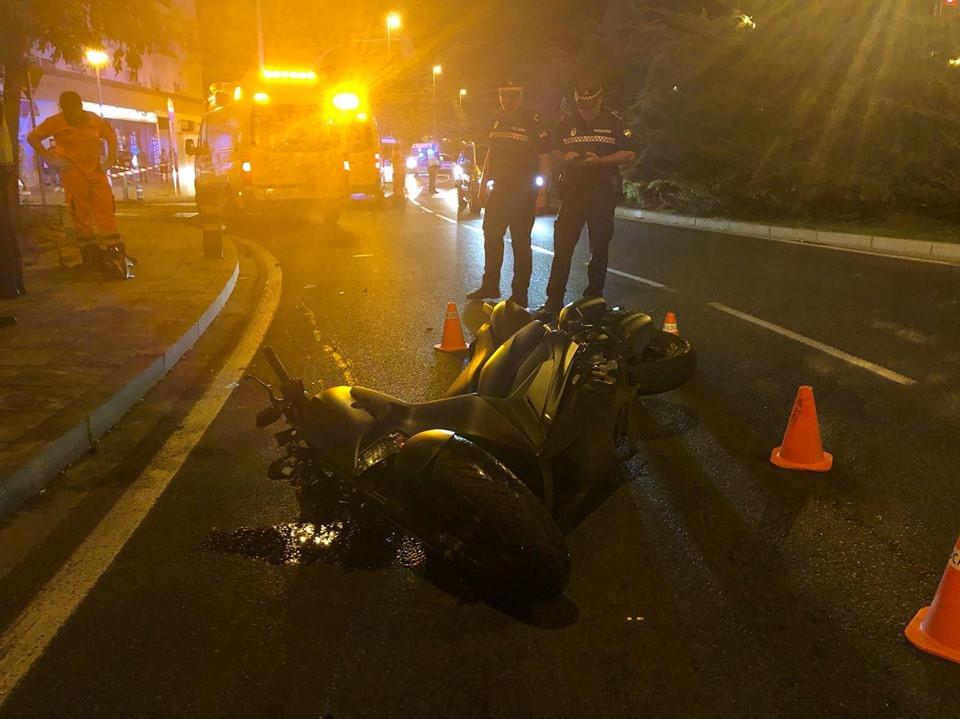 AionSur accidente Fallece un hombre de 32 años en un accidente de moto en Sevilla Sevilla Sucesos destacado