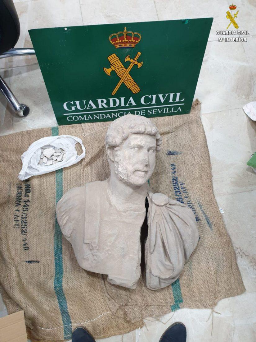 AionSur adriano-Sevilla Recuperada en Écija una pieza arqueológica del emperador 'Adriano' única en el mundo Sucesos  destacado