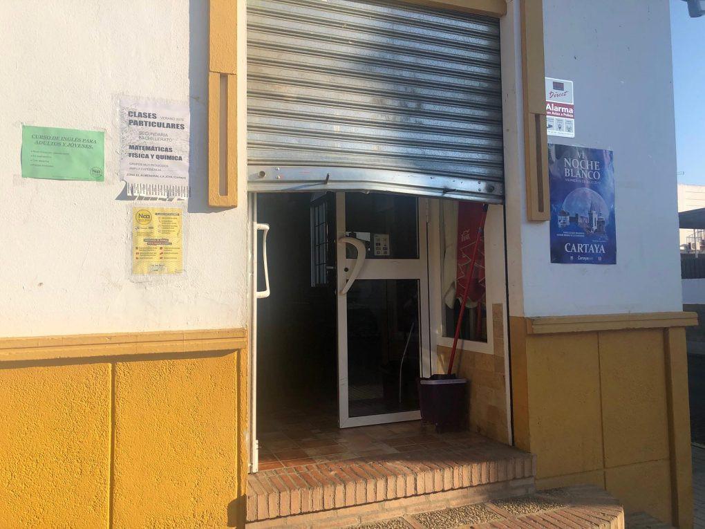 AionSur bar-asaltado Entra a robar de madrugada en un bar y se deja el móvil dentro Huelva Sucesos  destacado